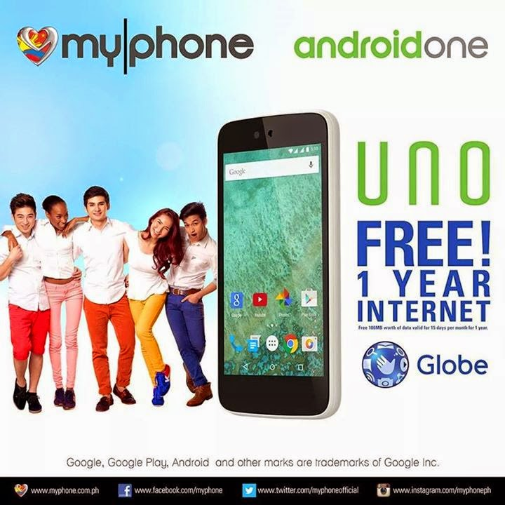 Buy MyPhone UNO From Globe Telecom and Get 1 Year Free ...